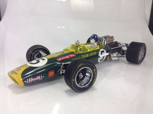 Lotus Type 49b Graham Hill Exoto 1/18