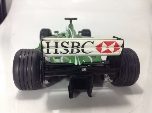 Jaguar R1 Eddie Irvine Hot Wheels 1/18 Autografada - B Collection
