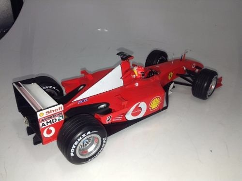 Ferrari F2001 Schumacher Hot Wheels 1/18 - B Collection