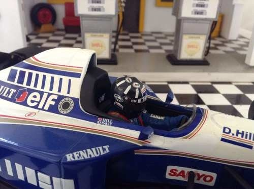 Imagem do Williams Fw17 1995 Damon Hill Minichamps 1/18