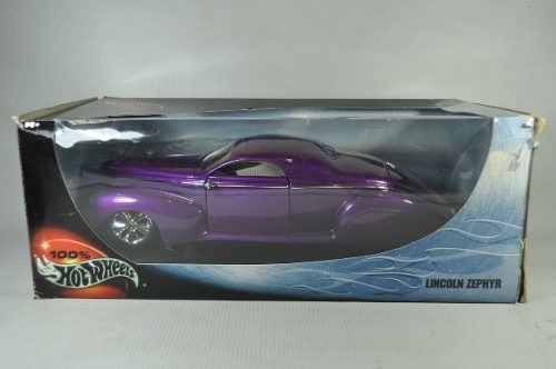 Imagem do Lincoln Zephyr Hot Wheels 1/18