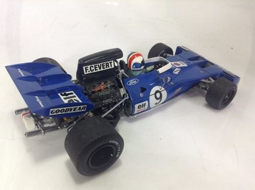 Tyrrell 003 François Cevert Exoto 1/18 - B Collection