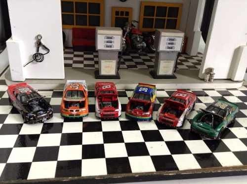 6 Miniaturas Nascar Racing Champions 1/64 - B Collection