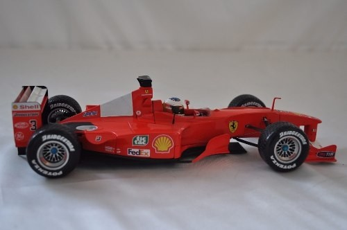 Ferrari F2001 Rain Tires Schumacher Hot Wheels 1/18 - B Collection