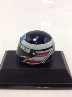 Capacete Bieffe - Gerhard Berger (1997) Minichamps 1/8 - B Collection