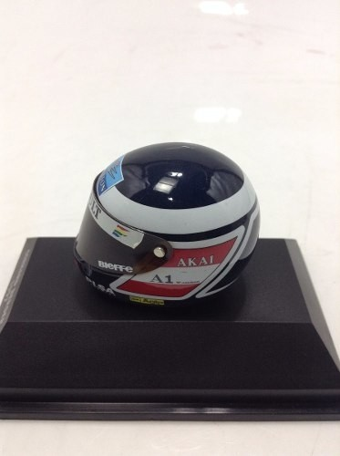 Capacete Bieffe Gerhard Berger 1997 Minichamps 1/8 - B Collection