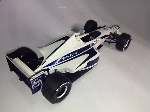 Williams Launch Car 2000 Schumacher Minichamps 1/18 - B Collection