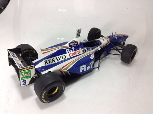 Williams Fw19 J.villeneuve Onyx 1/18 - B Collection