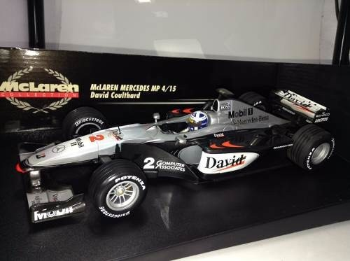 Imagem do Mclaren Mp4/15 D.coulthard Minichamps 1/18