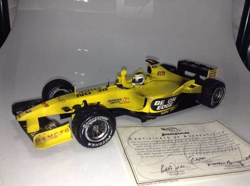 Jordan Ej13 Fisichella 1st Win Hot Wheels 1/18 - loja online