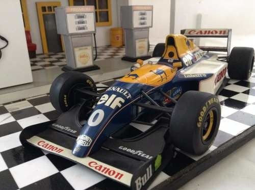 Williams Fw15 Damon Hill Minichamps 1/18 - comprar online