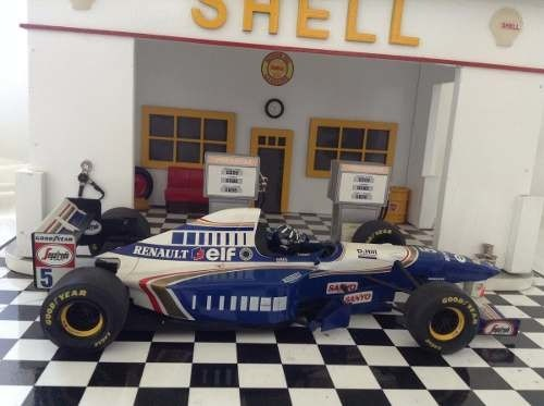 Williams Fw17 1995 Damon Hill Minichamps 1/18 - loja online
