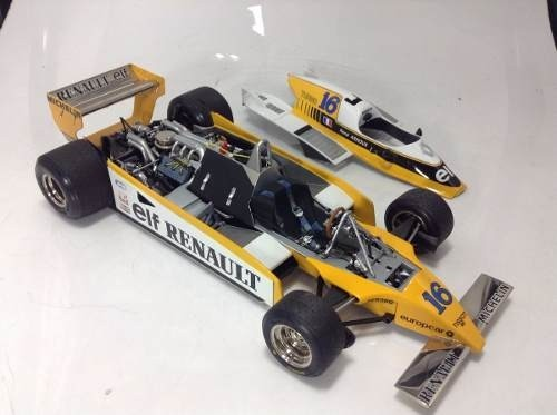 Renault Re-20 Turbo Rene Arnoux Exoto 1/18 - B Collection
