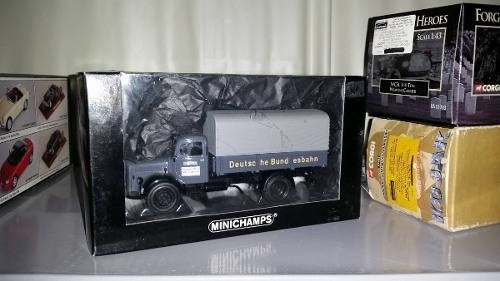 Imagem do Mercedes Benz L3500 Canvas Truck Minichamps 1/43