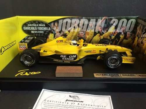 Jordan Ej13 Fisichella 1st Win Hot Wheels 1/18
