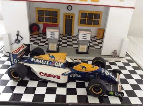 Imagem do Williams Fw15 Damon Hill Minichamps 1/18