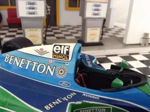 Imagem do Benetton B194 Schumacher Minichamps 1/18