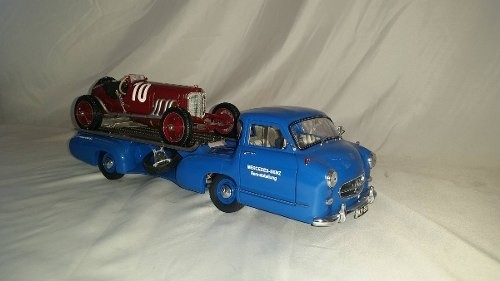 Mercedes Renntransporter 1954 Cmc 1/18