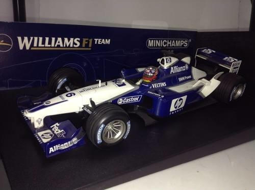 Imagem do Williams Fw24 Juan Pablo Montoya Minichamps 1/18