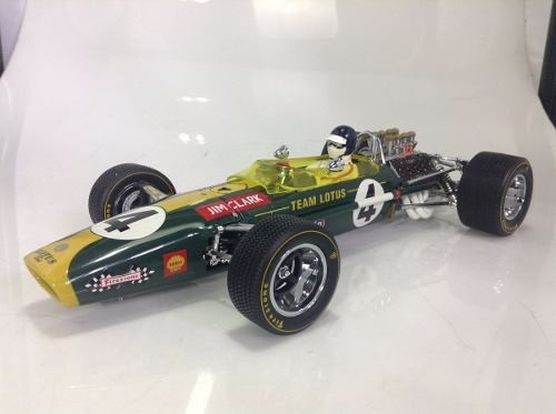Lotus Type 49 Jim Clark Exoto 1/18