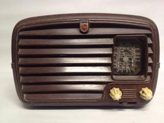 Rádio Antigo Philips Holanda Ano 1943