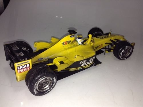 Jordan Ej13 Fisichella 1st Win Hot Wheels 1/18 - B Collection