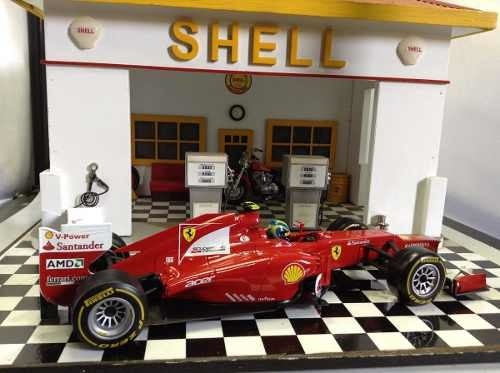 Ferrari F2012 F.massa Hot Wheels 1/18 - B Collection