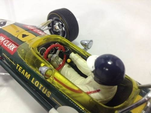 Imagem do Lotus Type 49 Jim Clark Exoto 1/18