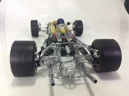 Lotus Type 49 Jim Clark Exoto 1/18 na internet
