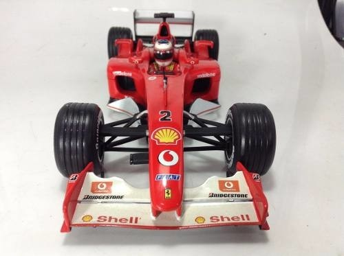 Ferrari F2002 Schumacher Hot Wheels 1/18 - comprar online