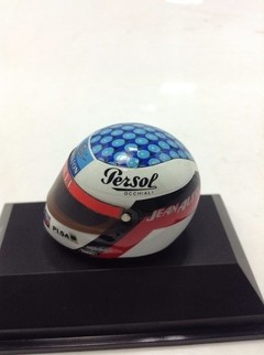Capacete Shoei - Jean Alesi (1996) Minichamps 1/8 - B Collection