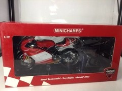 Imagem do Ducati Desmosedici Troy Bayliss - Minichamps 1/12