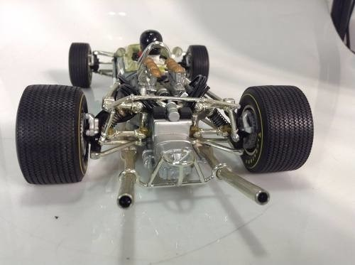 Lotus Type 49 Jim Clark Quartzo 1/18 na internet
