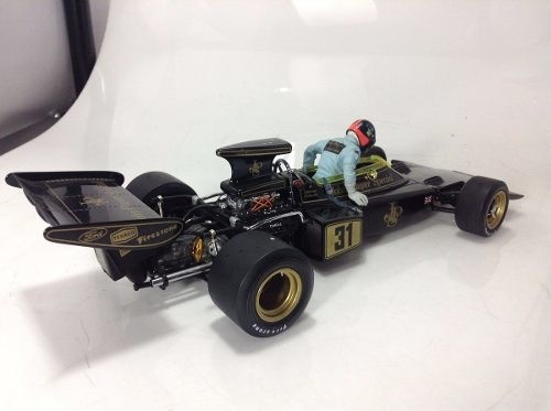 Lotus Type 72d Emerson Fittipaldi Exoto 1/18 - B Collection