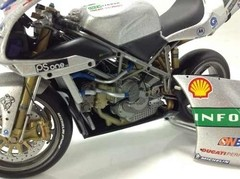 Imagem do Ducati 996R Troy Baliss (Superbike) - Minichamps 1/12