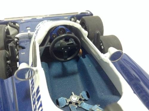 Imagem do Tyrrell P34 Ronnie Peterson Exoto 1/18