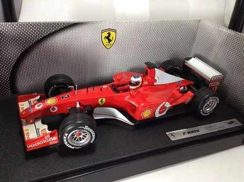 Ferrari F2002 Schumacher Hot Wheels 1/18 - loja online