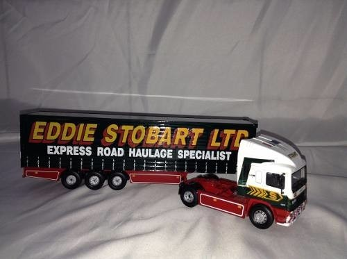 Erf Curtainside Eddie Stobart Corgi 1/50 - B Collection