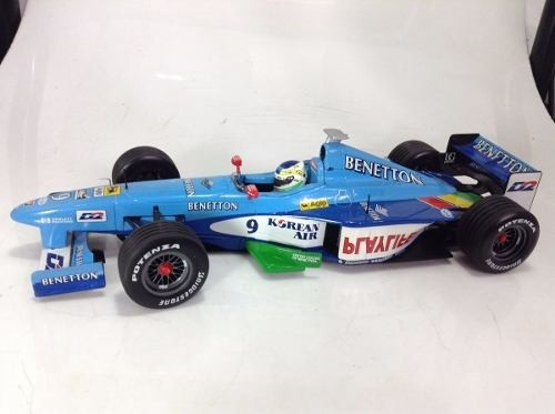 Benetton Showcar 1999 G.fisichella Minichamps 1/18 - B Collection