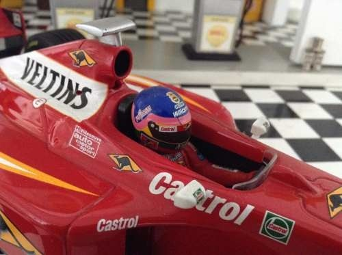 Imagem do Williams Fw20 Jacques Villeneuve Minichamps 1/18