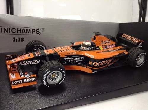 Imagem do Arrows A22 J.verstappen Minichamps 1/18