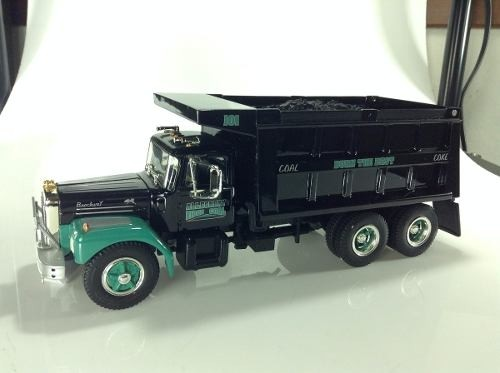 Brockway Charcoal Truck First Gear 1/34