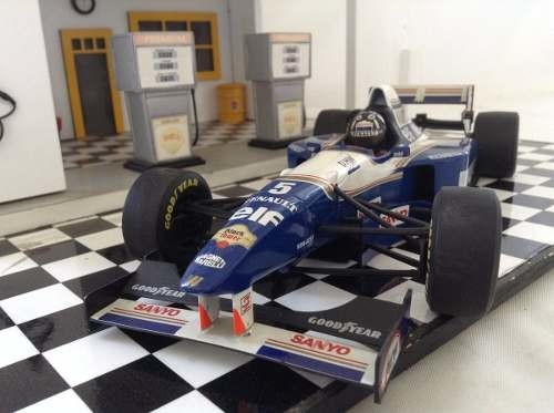 Williams Fw17 1995 Damon Hill Minichamps 1/18 - comprar online