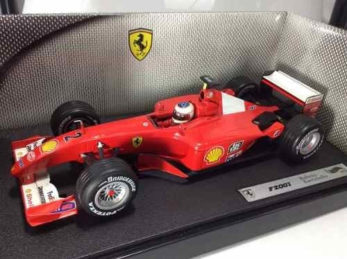 Imagem do Ferrari F2001 Barrichello Hot Wheels 1/18