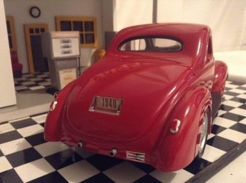 Ford Coupe 1940 Hot Rod Custom 1/18 na internet