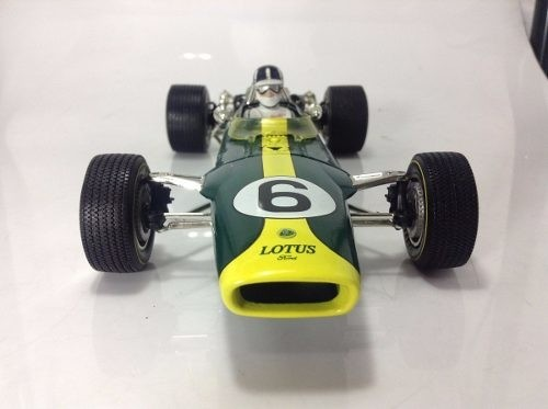 Lotus Type 49 Graham Hill Quartzo 1/18 - comprar online