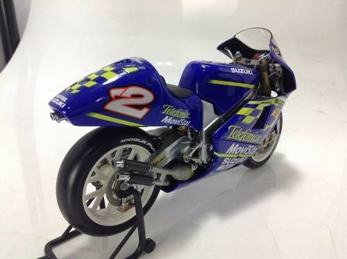 Suzuki Rgv 500 Kenny Roberts Minichamps 1/12 - B Collection