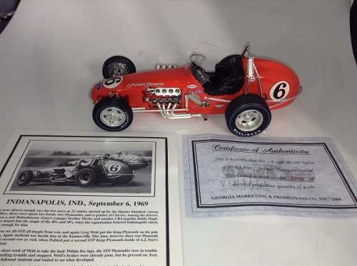 A.j.foyt/sheraton Thompson Special Dirt Champ Gmp 1/18 - loja online