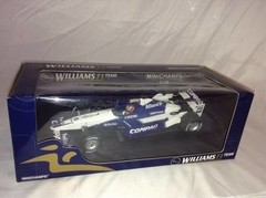 F1 Williams (BMW Launch Car 2002) J. P. Montoya - Minichamps 1/18 - loja online