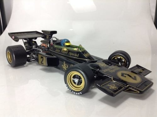 Lotus Ford Type 72e Ronnie Peterson Exoto 1/18